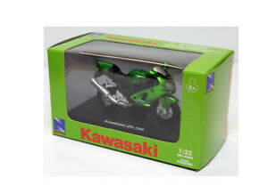Kawasaki ZX-12R in Green (1:32 scale by New-Ray Toys 06027B)