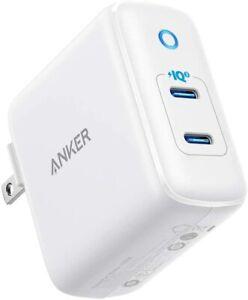 Anker iPhone Charger USB-C, 36W 2-Port PIQ 3.0, PowerPort III Duo Type C Galaxy