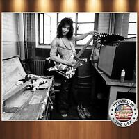 Eddie Van Halen Funny Cute Young 8x10 Photo Model REPRINT