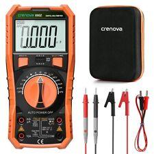 Crenova Digital Multimeter Trms Multi Testers Auto Ranging Volt Meter 6000