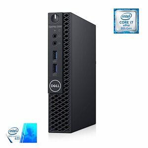 Dell OptiPlex 3060 Micro PC, intel i7-8700T, 16GB RAM, 512GB SSD, WiFi