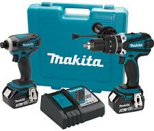 Makita XT218-R 18V 2‑Pc inalámbrico de iones de litio ‑ LXT. Combo Kit 3.0Ah