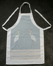 APRON 100% COTTON.  BY KAREN WALSHE, HERONS DESIGN. LOVELY QUALITY APRON