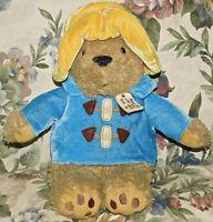 Yottoy My First Paddington Bear Plush Stuffed Animal Blue Coat Yellow Hat Toy