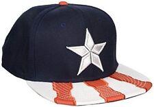 Marvel Comic Captain America VS Iron Man Hat Civil War Snapback Baseball Cap