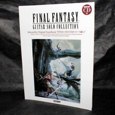 FINAL FANTASY GUITAR SOLO COLLECTION X~XIII-2 SOUNDTRACK SCORE CD NEW
