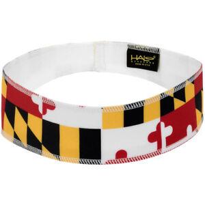 Halo Headband Pullover II Sweatband - Maryland Flag