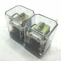Lot of 2 Relay Service Co. 99KUE Relay, Coil: 24VDC, Contacts: 120VAC 28VDC