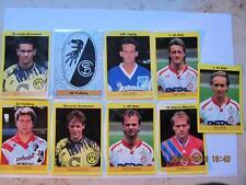 SC Freiburg Panini  Sticker und andere BVB Bayern M. Nürnberg Siehe Bild