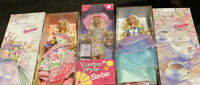 Lot-Special Edition Barbies -spring Petals, Spring Tea Party, Easter Style NRFB