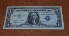 WASHINGTON $ NOTE, SILVER CERTIFICATE, LOT OF 13 SEQUENCIAL, 1957B, CRISP!