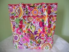 VERA BRADLEY CLEMENTINE TOTE LARGE WITH TOGGLE NWT PURSE SHOULDER BAG SCHOOL
