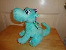 2014 DISNEY SOFIA THE FIRST CRACKLE TURQUOISE BLUE DRAGON PLUSH DOLL FIGURE