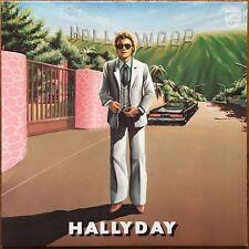 JOHNNY HALLYDAY Hollywood 1979 LP Philips 9101 216 imprimerie Glory Super état
