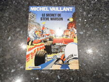 belle reedition  michel vaillant le secret de steve warson