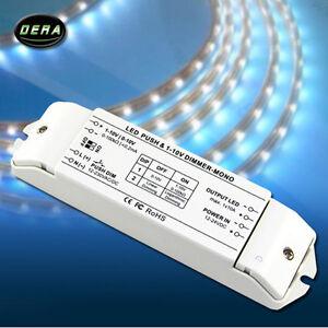 LED Dimmer PWM Dimmer fluorescent  LED lamps 0/1-10v dimming driver push dimmer