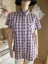 H.I.S Damen Busines-Freizeithemd-Bluse mit Karo-Design Gr.XXL UVP 59,95€ Neu
