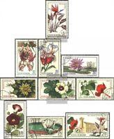 Rumänien 2442-2451 (kompl.Ausg.) gestempelt 1965 Botanische Gärten