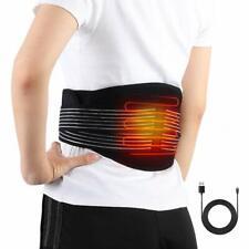 Haofy fascia riscaldante schiena elettrica lombare riscaldato cintura per uom...