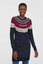 Ladies H&M Christmas Jumper Dress SIZE M 12/14