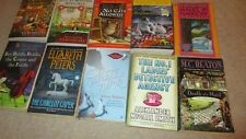 Lot of 10 Cozy Mysteries Paperback Used Peters, Hess, McCall Smith More
