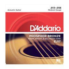 D'Addario EJ17-3D3 Pack Set Value Pack Acoustic Strings, Medium 13-56 - NEW!