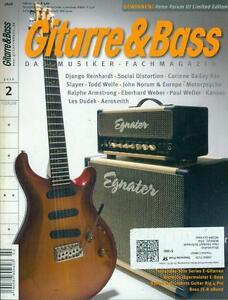 Gitarre & Bass 2010/02 (Django Reinhardt)