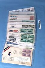 Mystic Co First Day Issue 18 Military Wwii Vets Cover Stamps Envelopes 1933-88