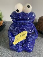 Cookie Monster Cookie Jar Vintage Sesame Street