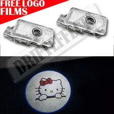 NEW Ghost Shadow HELLO KITTY LED Lights Door Logo for Acura TLX RLX MDX TL ZDX