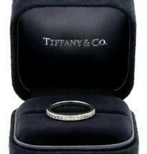 Tiffany & Co. Channel 2.3 mm Half-Way Wedding Band .17 carats, Size 5.5