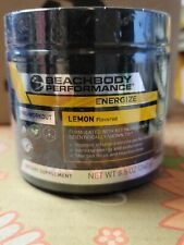 NIP Beachbody Performance Lemon Flavored Powdered Drink Energize 30 Day Supply