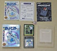 Gameboy pokemon Silver GB game boy color GBC version Nintendo tested Japan