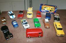 Lot de voitures miniatures au 1/43 ( Corgi, Solido, etc.. )