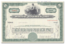 White Stores, Inc. Stock Certificate (Wichita Falls, Texas Automotive Chain)