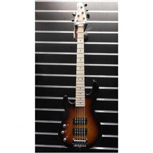 G&L L-2500 Left Handed 5-String Electric Bass - Sunburst