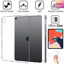 IPad Pro 9.7,10.5,11, iPad mini, 4/5/6  Crystal Clear  Silicone Case Cover