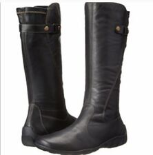 NWOT REMONTE LIV 73 Tall Black Boots Size 8 39 Leather