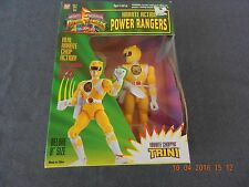 1994 NEW MIGHTY MORPHIN POWER RANGERS, REAL KARATE CHOP ACTION YELLOW TRINI NIB