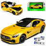Mercedes-Benz AMG GT R Coupe Gelb Ab 2014 1/24 Welly Modell Auto mit oder ohne i