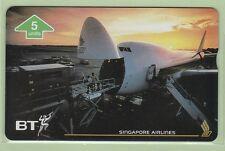 UK - BT General - 1996 5u Singapore Airlines IV  - BTG742 - Mint - #140006