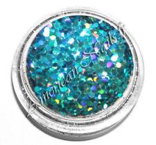 boite paillettes fines bijoux ongle bleu HOLO HEXAGONES 1mm Nail Art