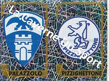 N°696 SCUDETTO ITALIA PALAZZOLO AS.PIZZIGHETTONE STICKER PANINI CALCIATORI 2004