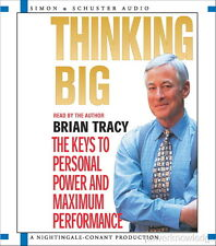 NEW 2 CD Thinking Big Keys to Personal Power  Brian Tracy (Nightingale Conant)