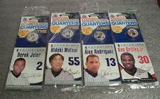 Signature Series U.S.A. COLORIZED QUARTERS MLB Jeter, Griffey Jr., ++  Lot of 15
