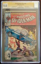 AMAZING SPIDERMAN 306 CGC SS SIGNED BY TODD MCFARLANE