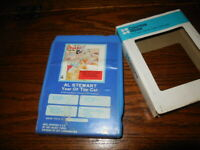 Al Stewart Year Of The Cat 8 Track Tape Reconditioned New Pad Foil Splice