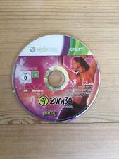 Zumba Fitness unirse a la fiesta para Xbox 360 * * disco solamente