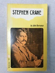 Stephen Crane by John Berryman - PB - Acceptable - Biography - Meridian M131