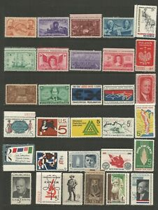 United States A Nice Selection of Mounted Mint Stamps (Selection 3)